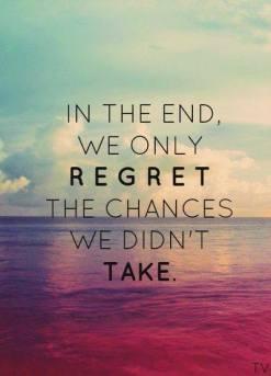 No regrets Pic